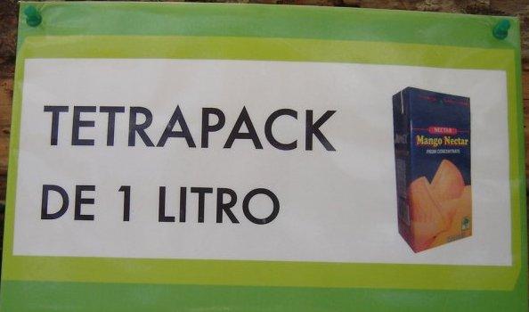 Cajas de tetrapak