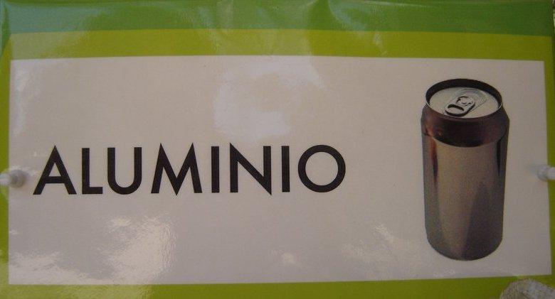Aluminio son latas, jugos, etc.